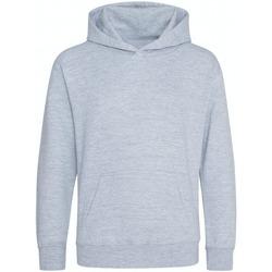 textil Barn Sweatshirts Awdis JH201B Grått ljung