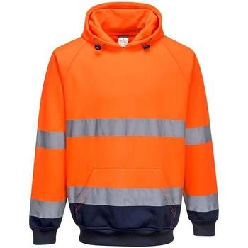 textil Herr Sweatshirts Portwest  Orange/Navy