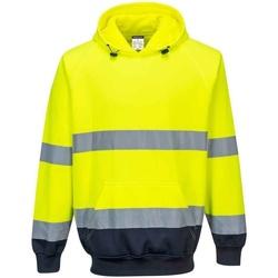 textil Herr Sweatshirts Portwest  Gul/Navy