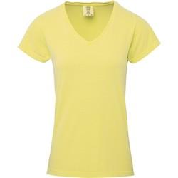 textil Dam T-shirts Comfort Colors CO011 Smör