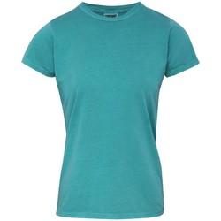 textil Dam T-shirts Comfort Colors CO010 Seafoam