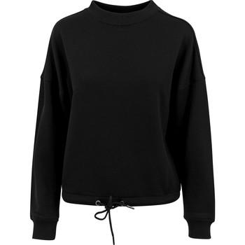 textil Dam Sweatshirts Build Your Brand BY058 Svart