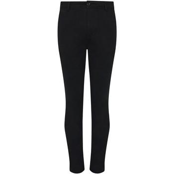 textil Herr Chinos / Carrot jeans Awdis SD020 Svart