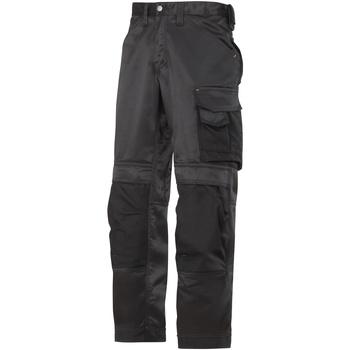textil Herr Cargobyxor Snickers SI006 Svart