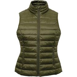 textil Dam Koftor / Cardigans / Västar 2786 TS31F Olive