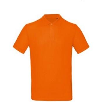 textil Herr Kortärmade pikétröjor B And C BA260 Orange