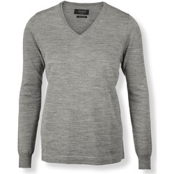 textil Dam Sweatshirts Nimbus NB92F Grå melange