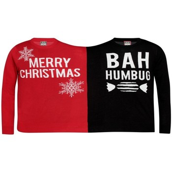 textil Sweatshirts Christmas Shop  Röd/Svart