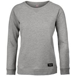 textil Dam Sweatshirts Nimbus NB87F Grå melange