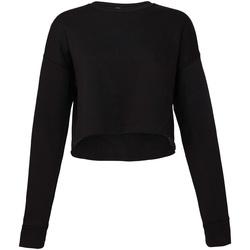 textil Dam Sweatshirts Bella + Canvas BE7503 Svart