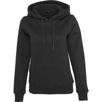 textil Dam Sweatshirts Build Your Brand BY026 Svart