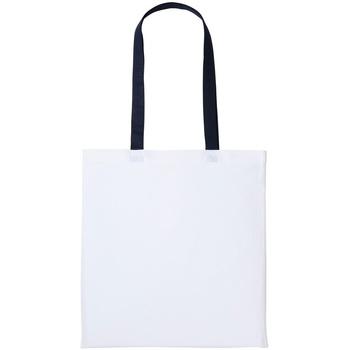 Väskor Shoppingväskor Nutshell RL150 Vit/Oxford Navy