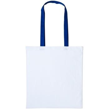 Väskor Shoppingväskor Nutshell RL150 Vit/Royal