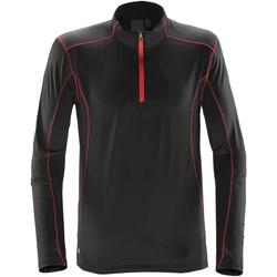 textil Herr Sweatshirts Stormtech ST177 Svart/röd