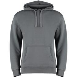 textil Sweatshirts Kustom Kit KK333 Mörkgrå marl