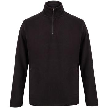 textil Sweatshirts Henbury HB858 Svart