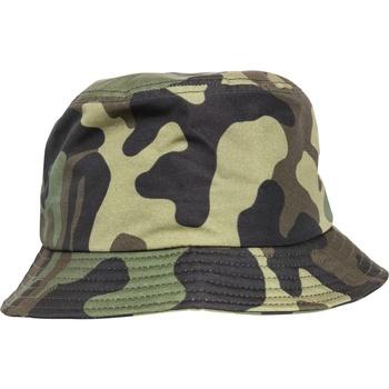 Accessoarer Hattar Flexfit By Yupoong YP068 Grön kamouflage