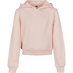 textil Flickor Sweatshirts Build Your Brand BY113 Rosa