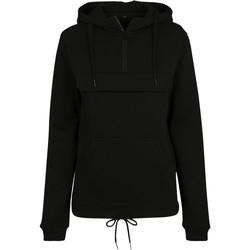 textil Dam Sweatshirts Build Your Brand BY097 Svart