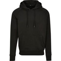 textil Sweatshirts Build Your Brand BY093 Svart