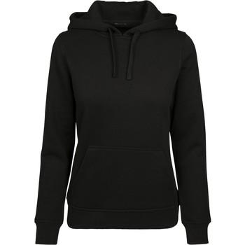 textil Dam Sweatshirts Build Your Brand BY087 Svart