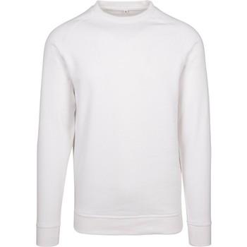 textil Herr Sweatshirts Build Your Brand BY094 Vit