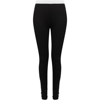 textil Leggings Sf SK426 Svart/vit