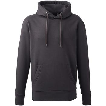 textil Herr Sweatshirts Anthem AM001 Grått kolgrått