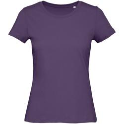 textil Dam T-shirts B&c B118F Urban Purple