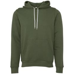 textil Sweatshirts Bella + Canvas BE105 Militärt grönt