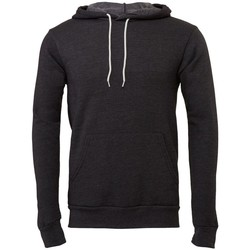 textil Sweatshirts Bella + Canvas BE105 Mörkgrått ljummet