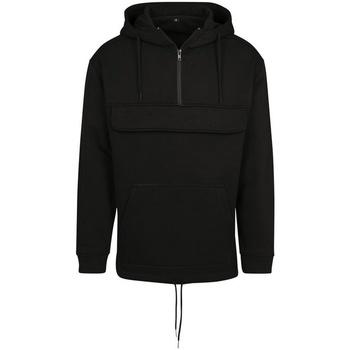 textil Sweatshirts Build Your Brand BY098 Svart