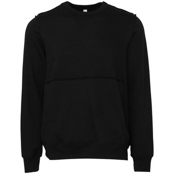 textil Sweatshirts Bella + Canvas BE133 Svart