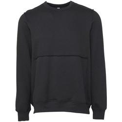 textil Sweatshirts Bella + Canvas BE133 Mörkgrå