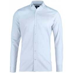 textil Herr Långärmade skjortor Nimbus N102M Ljusblå