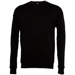 textil Sweatshirts Bella + Canvas BE045 Svart