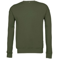 textil Sweatshirts Bella + Canvas BE045 Militärt grönt