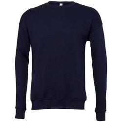 textil Sweatshirts Bella + Canvas BE045 Marinblått