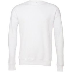 textil Sweatshirts Bella + Canvas BE045 Vit