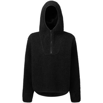 textil Dam Sweatshirts Tridri  Svart