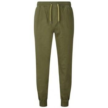 textil Herr Joggingbyxor Asquith & Fox AQ055 Olive