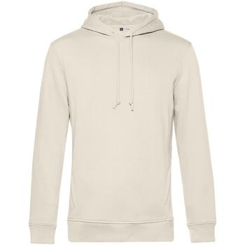 textil Herr Sweatshirts B&c  Off White
