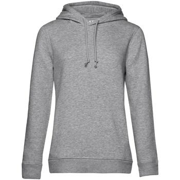 textil Dam Sweatshirts B&c  Grått ljung