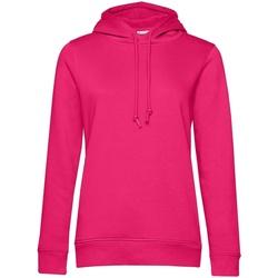 textil Dam Sweatshirts B&c  Magenta