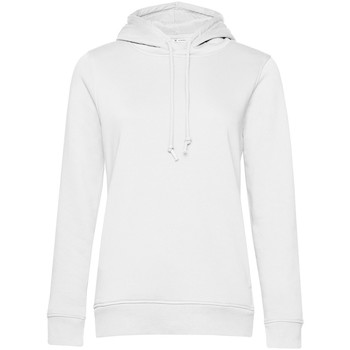 textil Dam Sweatshirts B&c  Vit