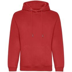 textil Herr Sweatshirts Awdis JH201 Röd