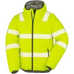 textil Herr Jackor Result Genuine Recycled R500X Fluorescerande gult