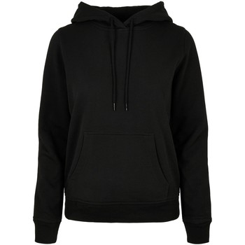 textil Dam Sweatshirts Build Your Brand BB007 Svart