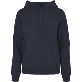 textil Dam Sweatshirts Build Your Brand BB007 Marinblått