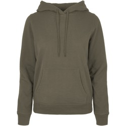 textil Dam Sweatshirts Build Your Brand BB007 Olive